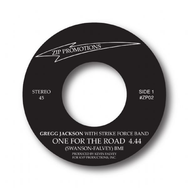 SOLD OUT! - GREGG JACKSON - ONE FOR THE ROAD / YOUR LOVE